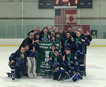 Leafs Bantam A2 wins Silver Stick Mid-Am Regional and will head to Pelham, Ontario in January.  Photographer's Name: Patricia  Pifer Photographer's City and State: Rockford, IL