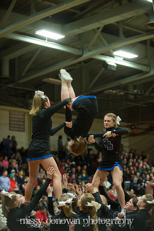 Geneva Cheerleaders showing us how it's done<br /> <br /> Photographer's Name: Missy  Donovan<br /> Photographer's City and State: Geneva, IL