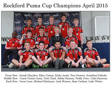 Cary Defenders U15s Win Rockford Puma Cup   Photographer's Name: Kim Glaysher Photographer's City and State: Cary, IL
