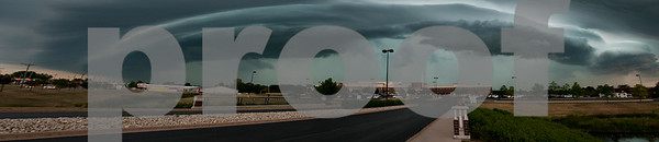 STORM CLOUDS ROLLING IN OVER KISHWAUKEE COMMUNITY HOSPITAL  Photographer's Name: NOAH NORDBROCK Photographer's City and State: DEKALB, IL