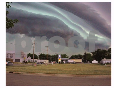Storm clouds rolling over Sycamore IL..... at Rt 64 & Kingsway  Photographer's Name: rosemary cook Photographer's City and State: Sycamore, IL