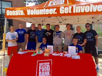 Geneva football excited to help out and give back around their community this year  Photographer's Name: Janie Friedel Photographer's City and State: Geneva, IL
