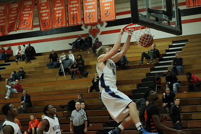 Robert Mara -  Dunk at St. Charles East Tourney  Photographer's Name: George Mara Photographer's City and State: woodridge, IL