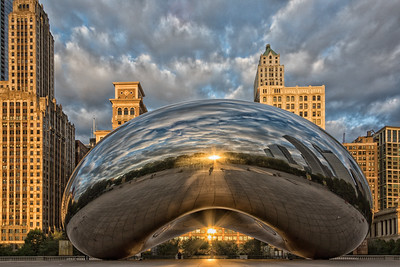 "Sunrise at Cloud Gate ""The Bean"" Chicago, IL  Photographer's Name: Jeff Gathman Photographer's City and State: Lake in the Hills, IL"
