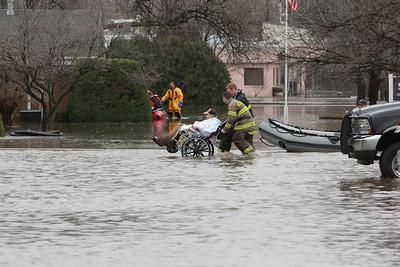 Nursing Home Resident Evacuation Lisle  Photographer's Name: Kathy Crane Photographer's City and State: Woodridge, IL