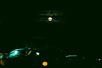 The moon was amazing on our way to see some Christmas lights (yes, i take pictures while driving.)