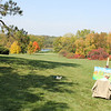 Arboretum, painter enjoying the spectacular fall colors<br /> <br /> Photographer's Name: Sylvia Kaufmann<br /> Photographer's City and State: Elburn, IL