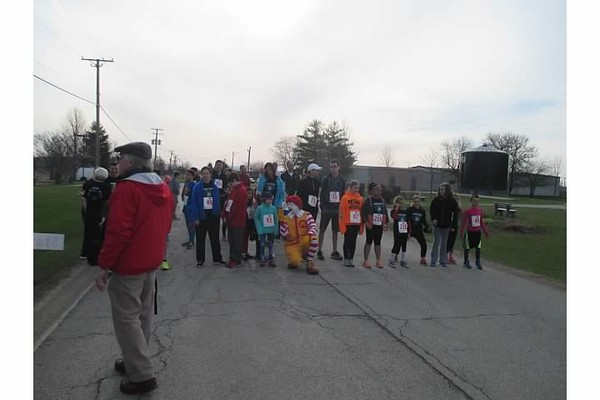 11th annual Dewey Dash and Ronald McDonald's pep talk<br /> <br /> Photographer's Name: julie travers<br /> Photographer's City and State: elmhurst, IL