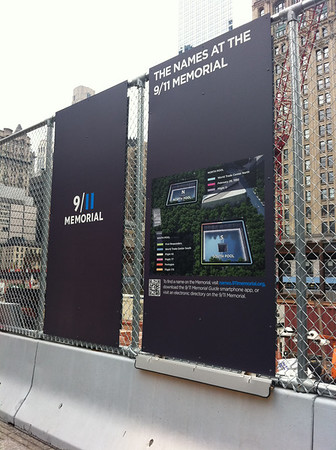 9/11 Memorial in NYC.<br /> <br /> Photographer's Name: Kelsey Rakers<br /> Photographer's City and State: St. Charles, IL