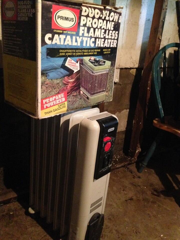 May 16 Catalytic heater