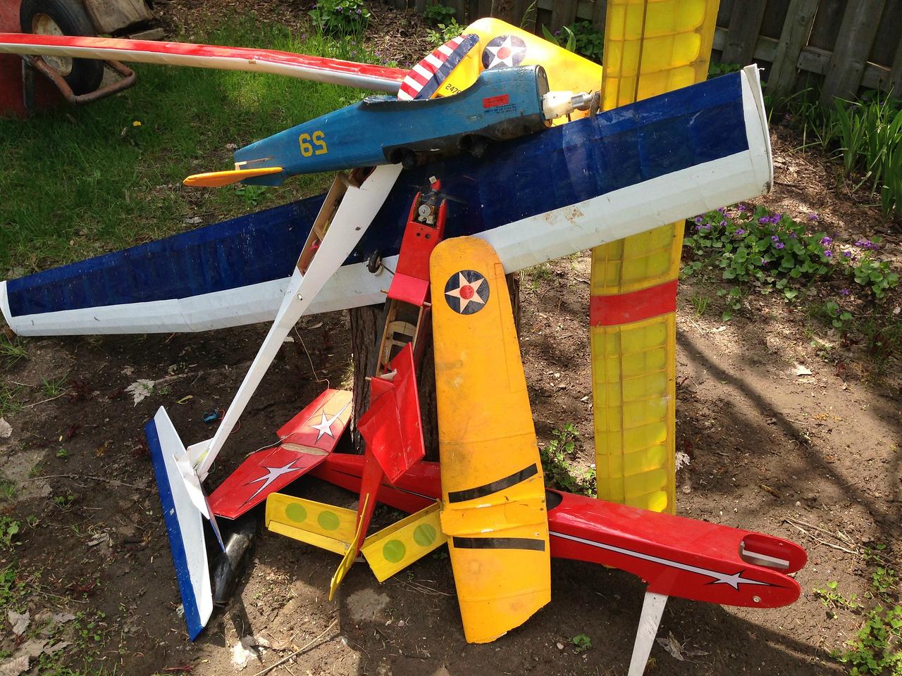 May 23 Model airplanes