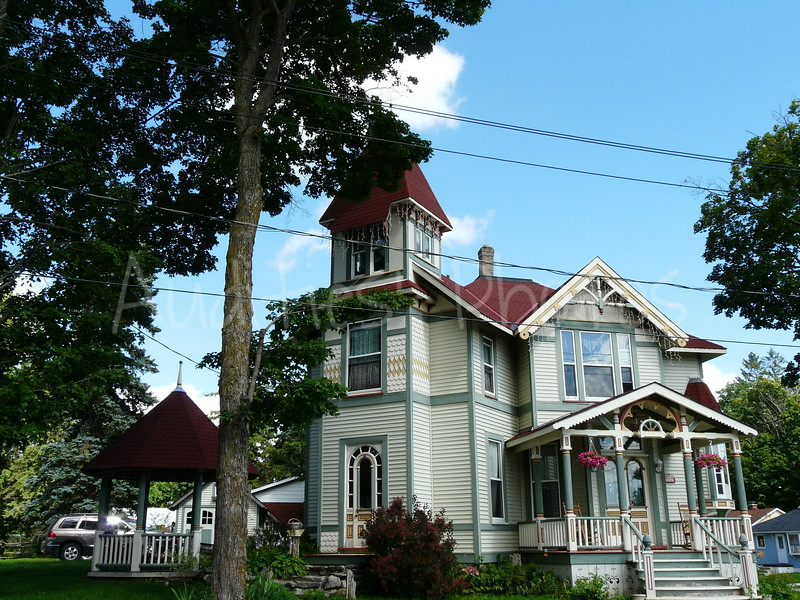A lovely home in Hanover, Ontario.