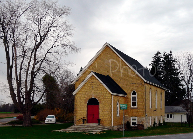 This is the former Presbytarian church in Mt. Brydges.