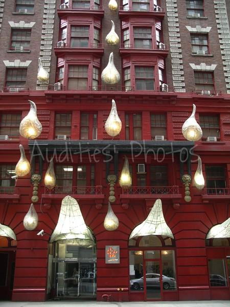 The Geishia Hotel in New York City.