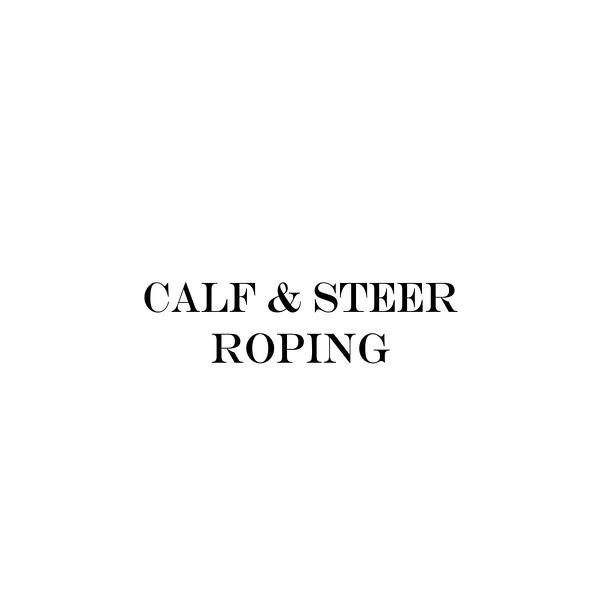 calf & steer roping