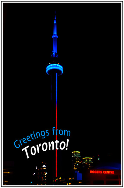 Greetings from Toronto