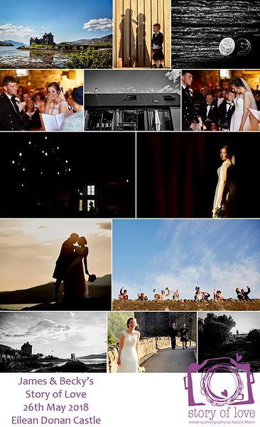 We have just watched the video and the photographs are fantastic! 🙂 we had a great time reminiscing on our lovely day.  Thank you very much for portraying it the way you did. 🙂  I look forward to spending a deal of time admiring the photographs online. They are just brilliant, we love them!