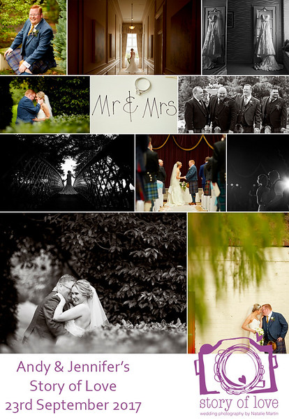 Absolutely thrilled with our wedding photos. Natalie was fantastic, a pleasure to work with, she made us feel so at ease on our wedding day.  Can't recommend her enough. Thanks again. Andy & Jennifer