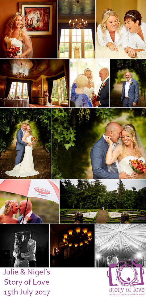 Thank you Natalie for the most amazing wedding photos. They really are truly beautiful. We cannot thank you enough. If you are looking for fairy tale wedding photos that are natural and capture the happiness of the day we can not recommend Natalie enough. She is a genius!""