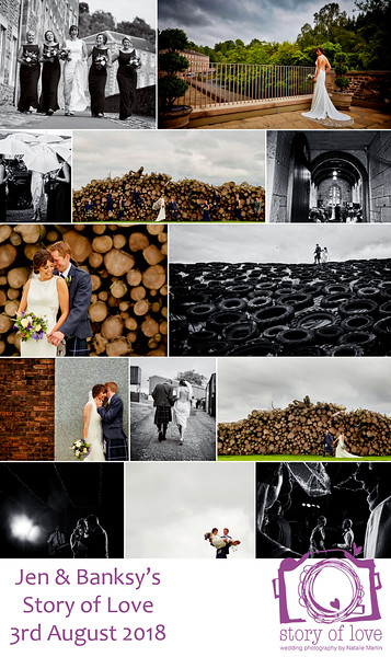 Got our photos back last night from Natalie and we are chuffed to bits with them! Natalie has been photographer at a number of weddings we have been at and she was the first person I booked for our wedding as I wouldn't have chosen anyone else! Natalie was amazing from beginning to end, made everyone feel at ease on the day and capturing some amazing photos! She has such an eye for detail, turning something quite ordinary into a stunning background for a photo! Definitely didn't expect to be on top of the silage pit on our wedding day! Can't recommend Natalie highly enough!