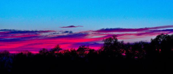 February Sunsets 2012