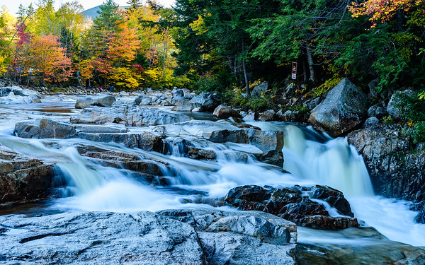 Rocky Gorge Scenic area at White Mountain National Forest, NH