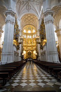 The Cathedral was started in 1521 and completed in 1714.