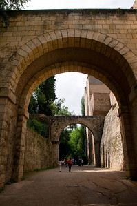Calat Alhambra (Red Castle) was originally built by the Muslims as a fortress, and later became a lavish palace.