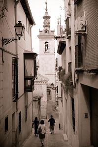 The streets of Toledo.
