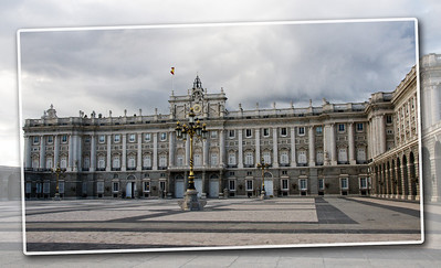 The Palacio Real de Madrid (Royal Palace).