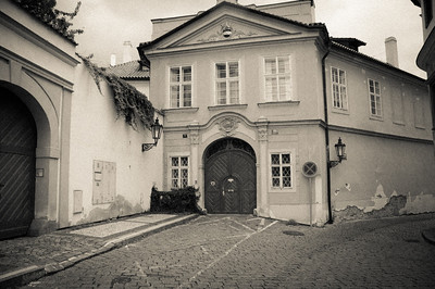 This was Mozart's residence in the movie Amadeus.