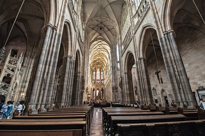 The spectacular St. Vitus Cathedral.