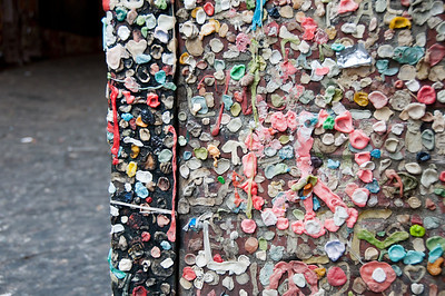 "Some of the ""gum artists"" were pretty creative."