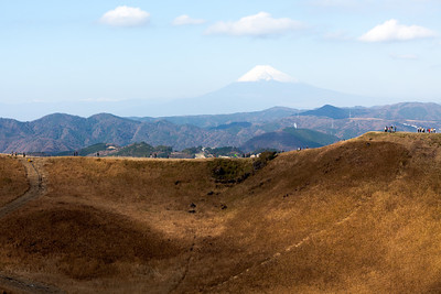 View from Mt Omura