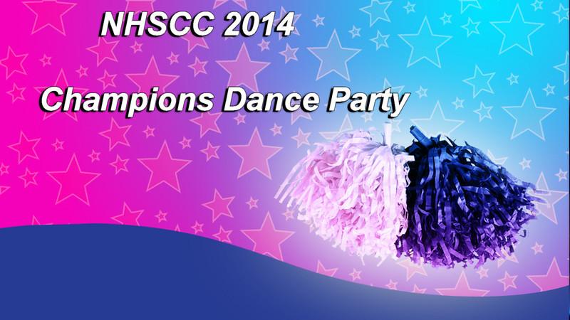 NHSCC Champions Dance Party