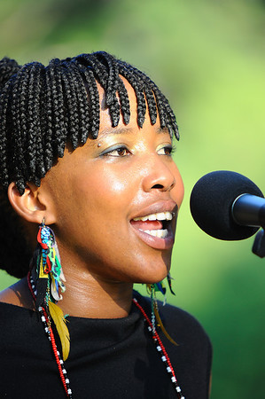 From the South African Food and Wine Festival at Grayhaven Vineyard. One of the wonderful performers