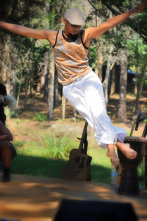 Amazing dance at the African Food and Wine Fest, Grayhaven Vineyard