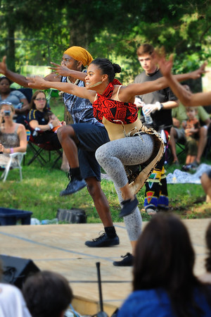 Amazing dance at the African Food and Wine Fest, Grayhaven Vineyard.