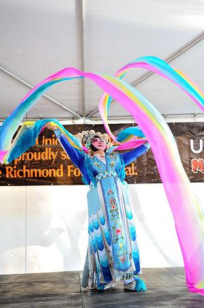Qi Shu Fang Peking Opera, 2011 Richmond Folk Festival