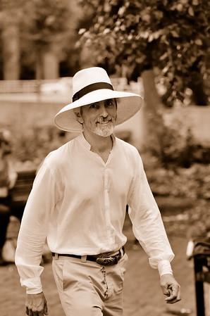 Man in the hat, 2011 Gay Pride, Richmond, VA.
