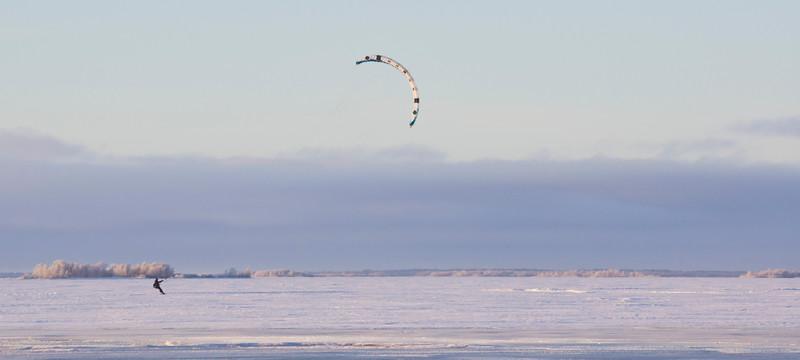 Kitesurfer at Nallikari I