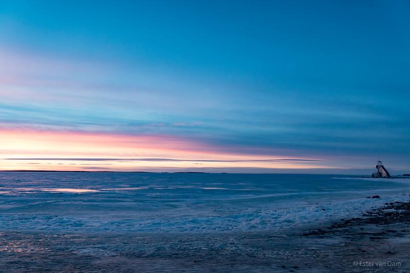 Frozen Sea at Nallikari