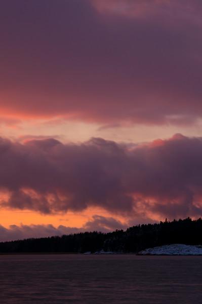 Sunset at Saaroniemi