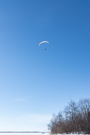 Powered Paraglider near Kello