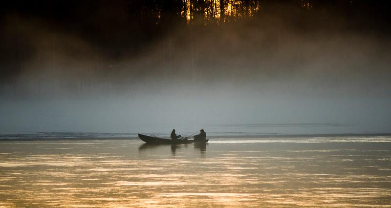 Fishermen and Fog