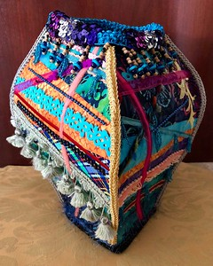 Textile Vessel (Side A)