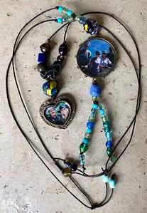 Epoxy necklaces