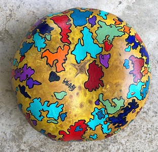 Painted Gourd 2