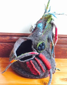 Felted Sculpture