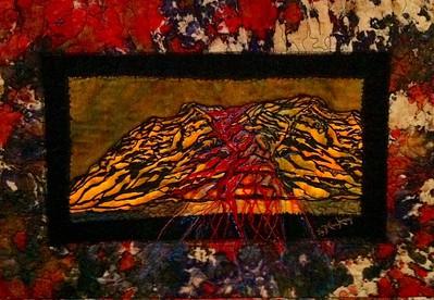 Textile 01 - Volcano